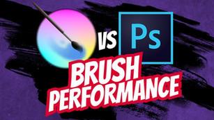 Is Krita slow and laggy?   Krita vs Photoshop brush performance comparison