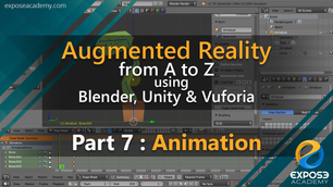 Augmented Reality from A to Z using Blender, Unity and Vuforia   part 7 : Animation