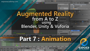 Augmented Reality from A to Z using Blender, Unity and Vuforia | part 7 : Animation
