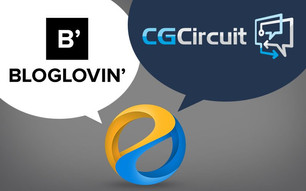 We are now on Bloglovin network and also on CG Circuit marketplace