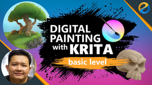 Digital Painting With Krita : Basic Level