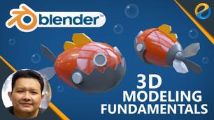 "My latest course ""Blender 3D modeling fundamentals"""