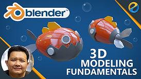 Blender 3D modeling fundamentals