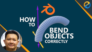 How to bend objects correctly in Blender 2.8x