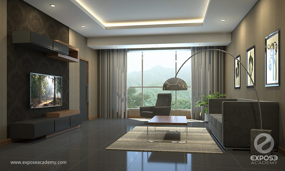 3D visualization workshop final project with 3DS MAX and corona rendering engine