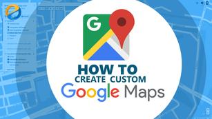 Create custom Google map with iframe embedding