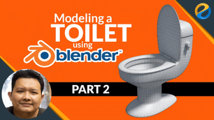 Modeling a toilet with Blender – Part 2