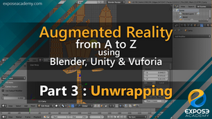 Augmented Reality from A to Z using Blender, Unity and Vuforia | part 3 : Unwrapping