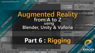 Augmented Reality from A to Z using Blender, Unity and Vuforia | part 6 : Rigging