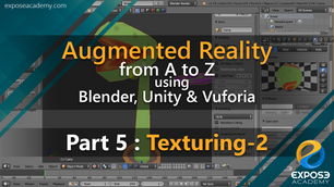 Augmented Reality from A to Z using Blender, Unity and Vuforia | part 5 : Texturing the head