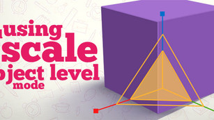 Avoid using scale in object level inside 3ds Max
