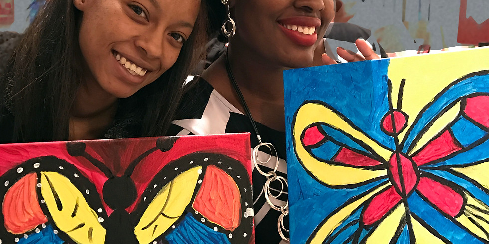 'Wine down Wednesdays Sip and Paint'  6:30-8:30pm