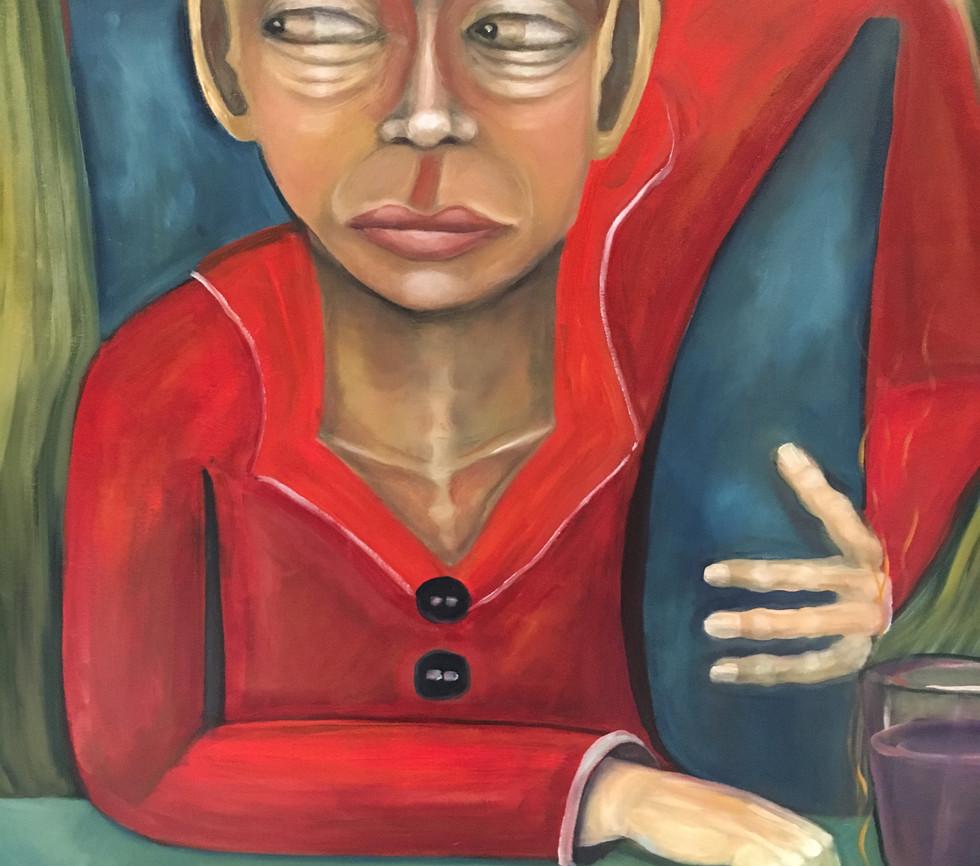 jealousy oil on canvas