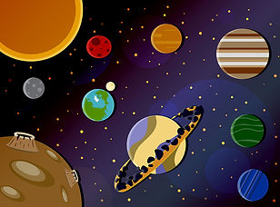 bigstock-The-Solar-System-With-All-The--
