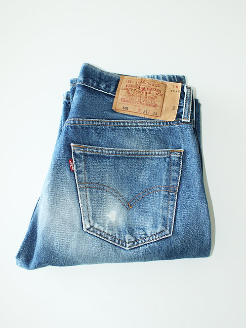 Vtg Levi's 501 Made in Mexico (W31 x L34)