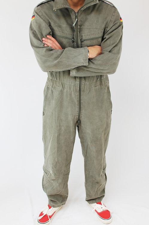 Vtg 1980 military german jumpsuit