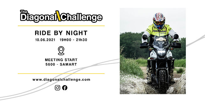The Diagonal Challenge - RIDE BY NIGHT 1
