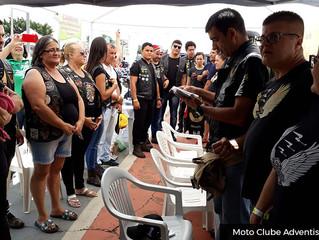 Feira de saúde no 6º Encontro Nacional de Motociclistas e Triciclistas de Monte Mor