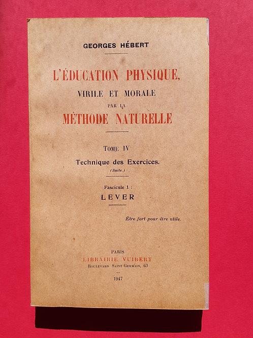 TOME IV Fascicule1  LEVER