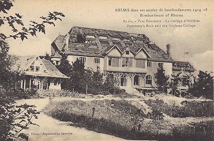 Collèges d'athlètes de Reims en Ruine - Dirigé par Georges Hébert de 1913 à 1914