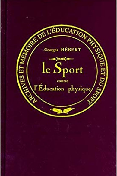 LE SPORT CONTRE L'EDUCATION PHYSIQUE