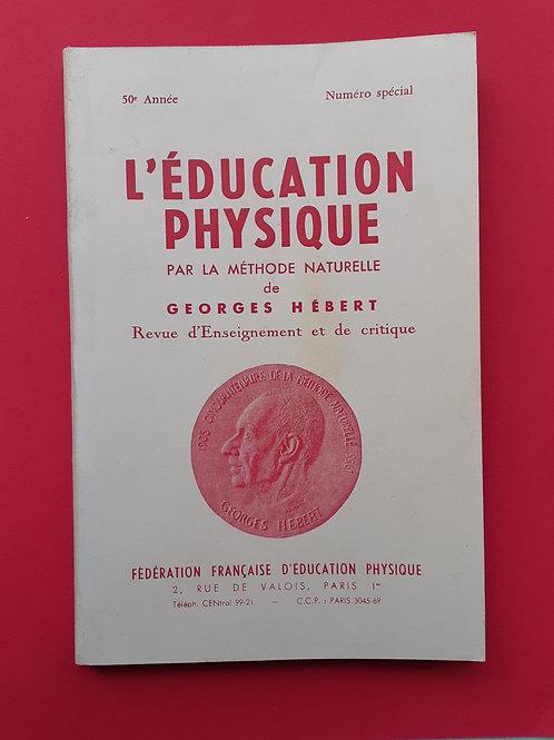 """numéro spécial de la revue """" L'EDUCATION PHYSIQUE"""""""