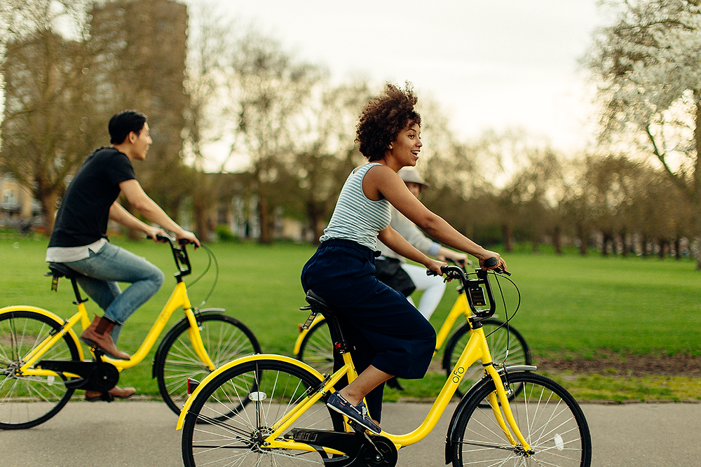 Beyond Extra - Be SG - Ride an Ofo bicycle