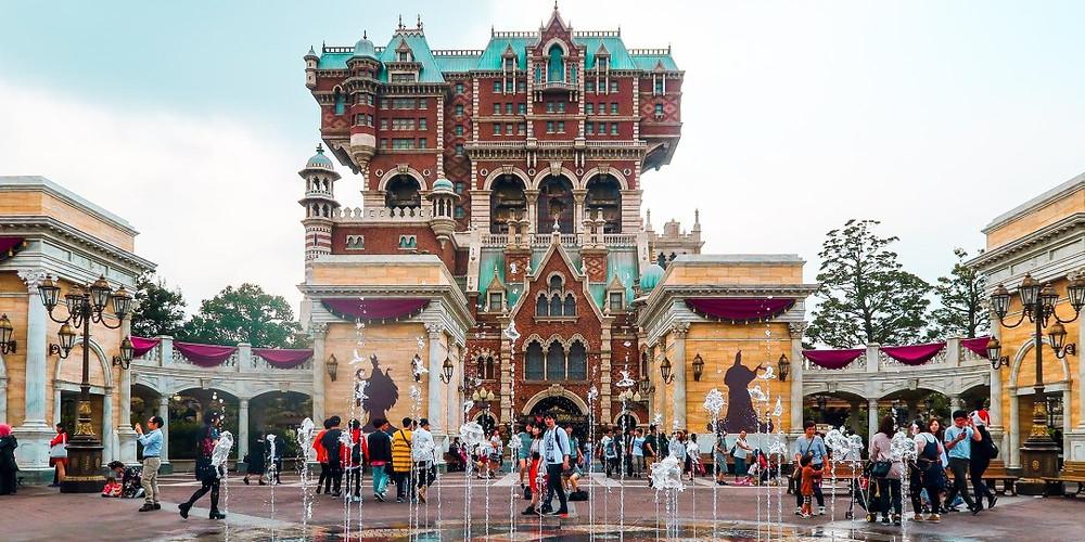 Japan - Tokyo - Sakura City - Disney Land Tower of Terror