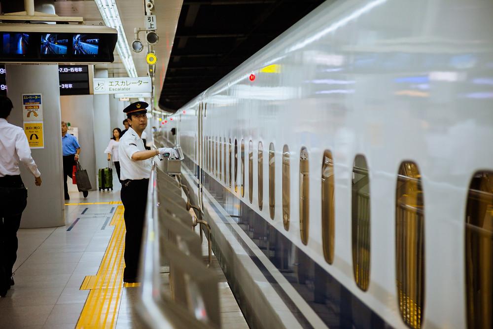 Japan - Tokyo - Sakura City - JR Line - Bullet Train