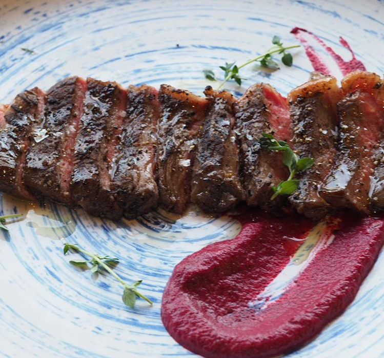 Beyond Extra - Be SG - Brothers in Fine Food Review Beef with Beetroot Thyme Puree