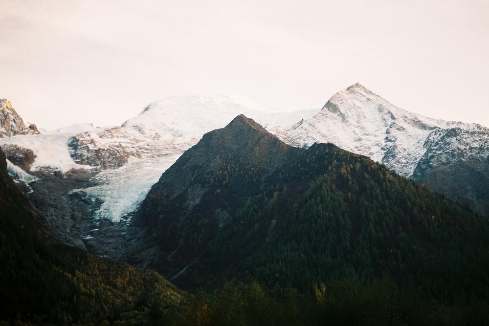Switzerland - Swiss Alps - Mont Blanc Mountain View
