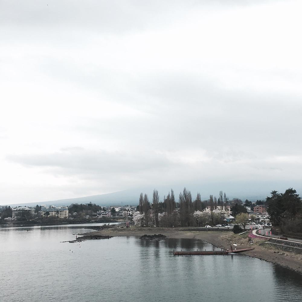 Japan - Tokyo - Sakura City - Lake Kawaguchiko scenery