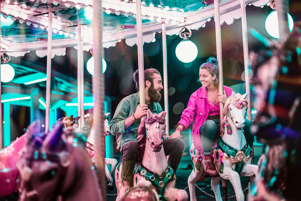 Beyond Extra - Be SG - Gardens by the Bay Carousel Date Night