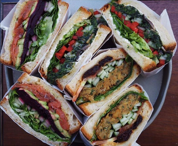 Penny University Open-faced Sandwiches