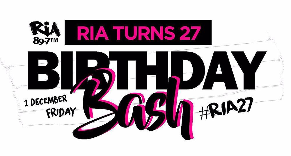 Ria Birthday Bash 2017 #ria27
