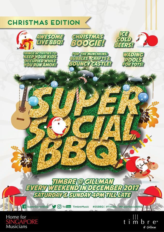 Beyond Extra - Be SG - Timbre Singapore at Gillman Social BBQ