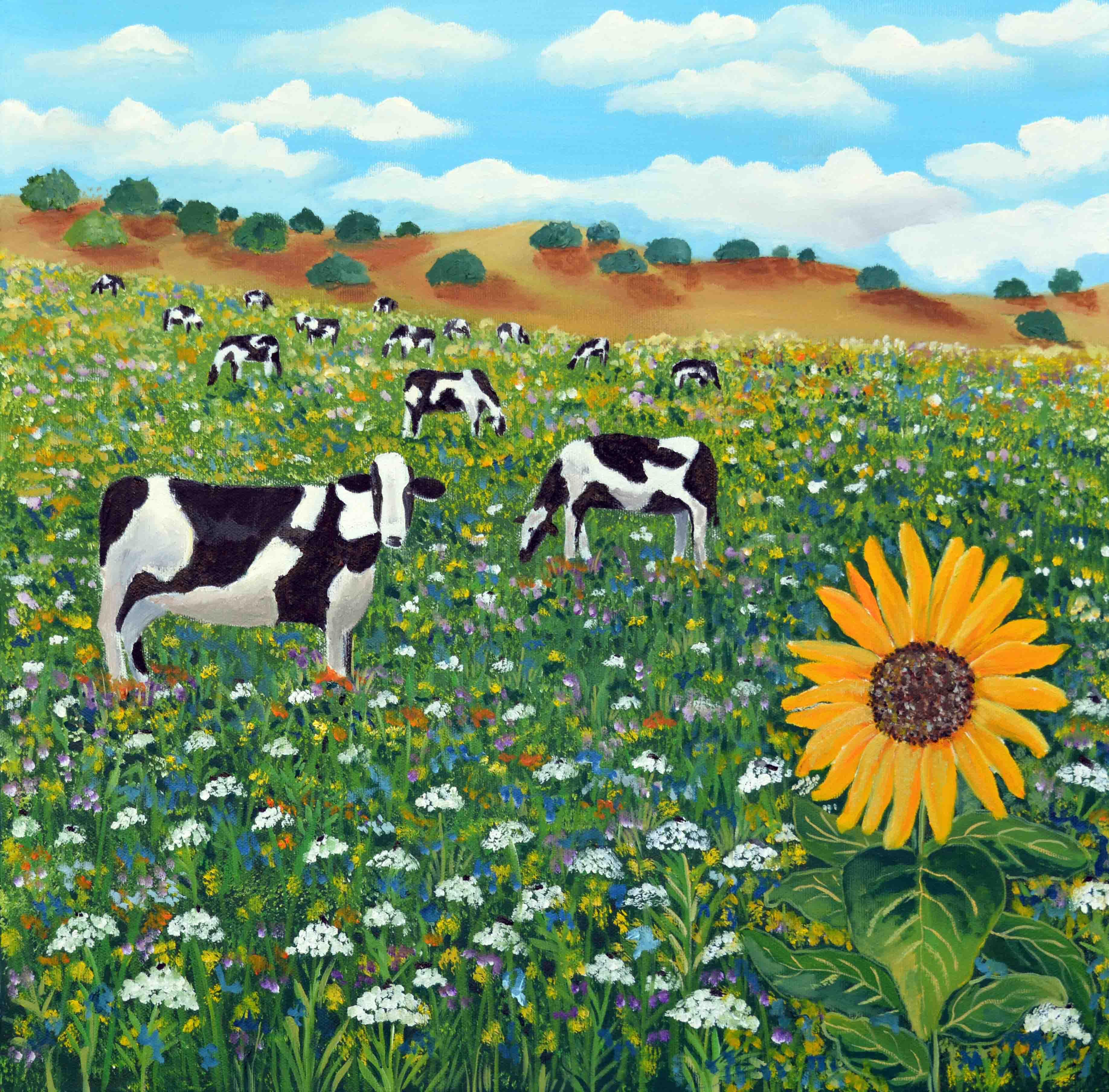 פרות באחו-גליה רון