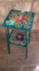 Hand painted vintage furniture