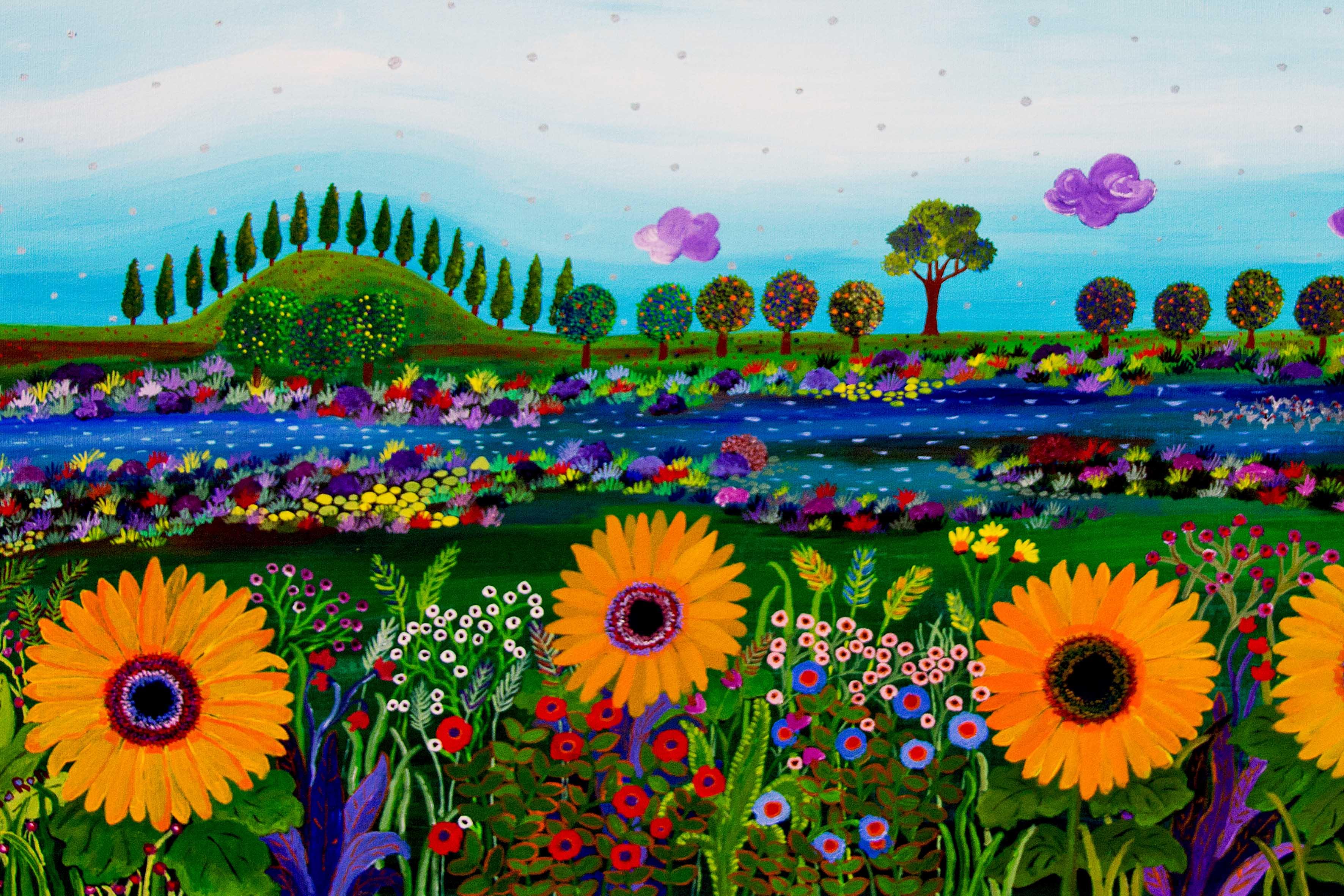 אביב באגמון החולה