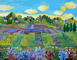 sunflowers village