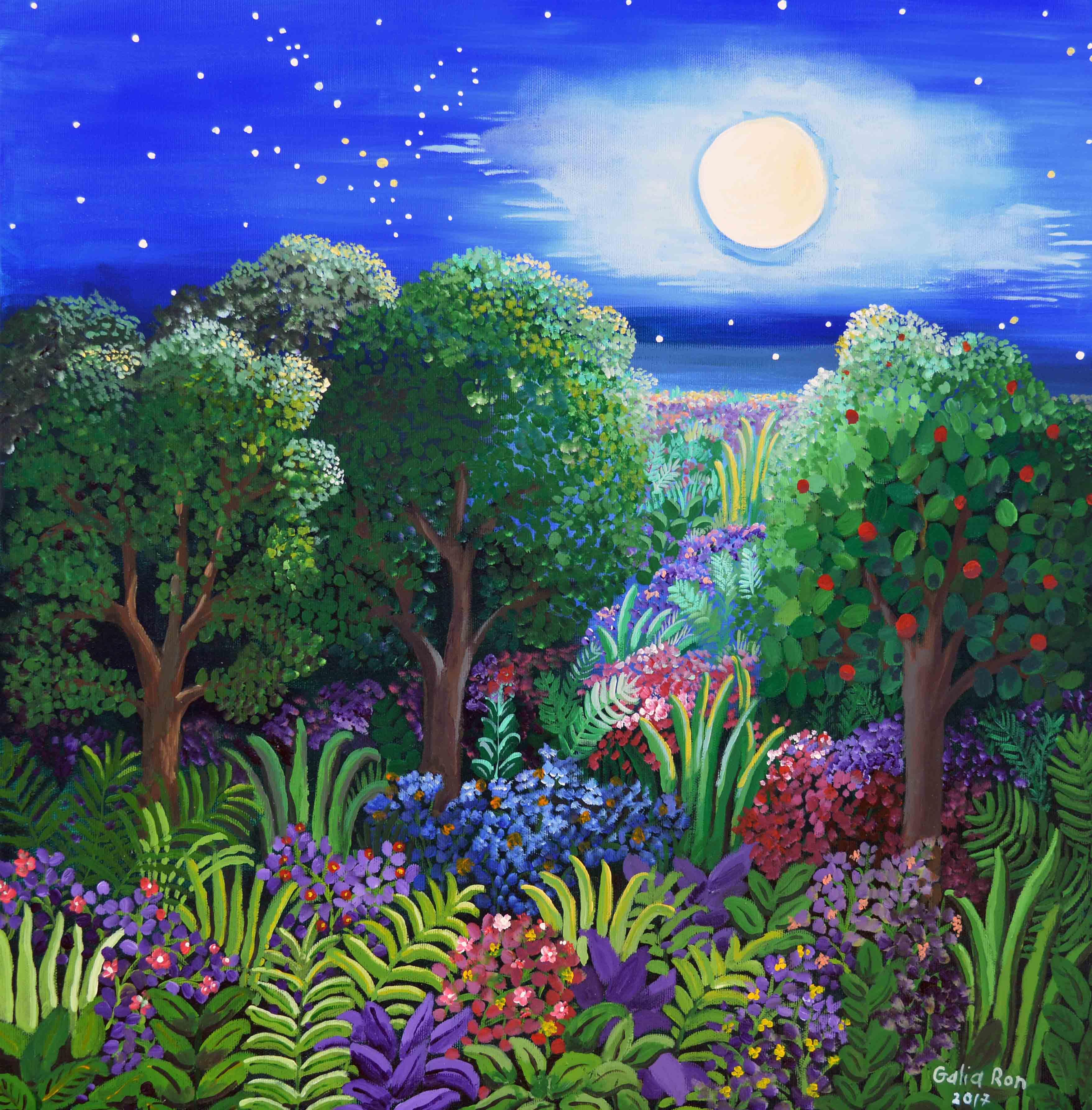 הגן לאור הירח-גליה רון