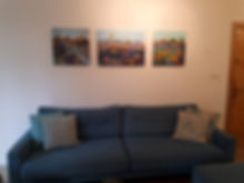 Three prints in customers' homes