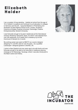 Elizabeth Haider Artist Profile
