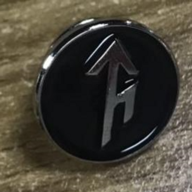 Tribe Bindrune Enamel Recognition Stick Pin