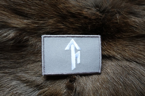Tribe Bindrune Patch in OCP Beige - Velcro type