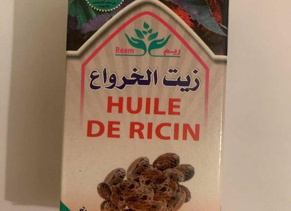 Huile de ricin 30 ml (14 €)