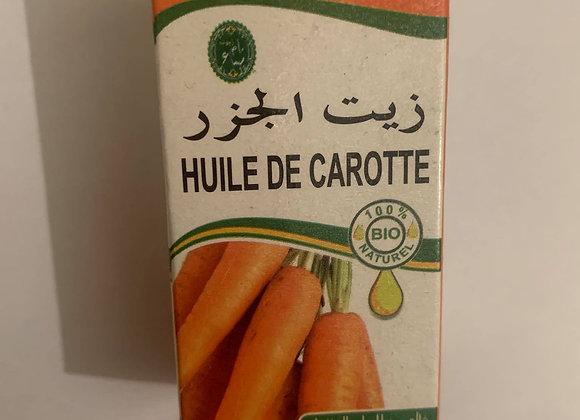 Huile de carotte 30 ml (15 €)