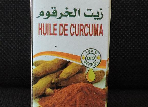 Huile de curcuma 30 ml (14 €)