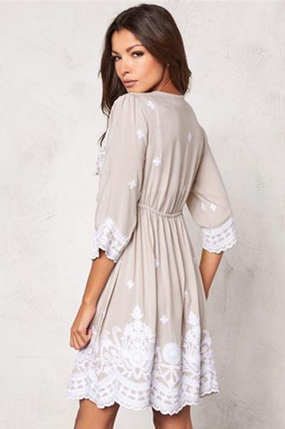 Alina Embroidered Dress