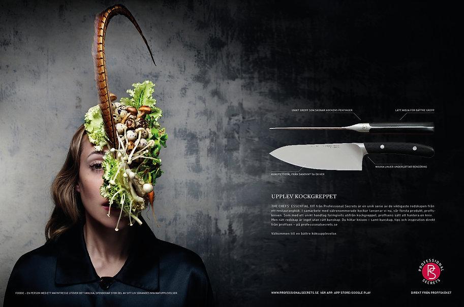 Professional secrets knivar